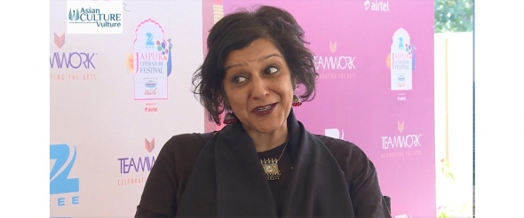 Meera Syal at the Jaipur Literature Festival 2016 on writing and acting