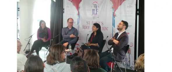 British Asian – 'no one is, it means nothing', declares writer at JLF London