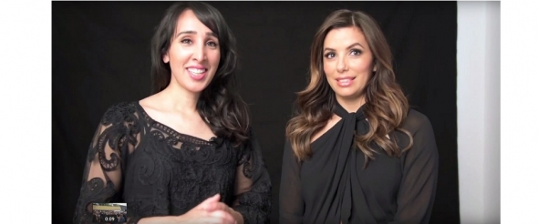 Eva Longoria behind the scenes at Cannes with ACV (video)