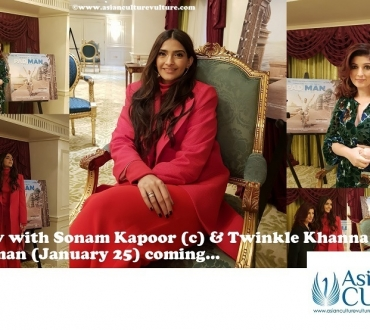 Sonam Kapoor and Twinkle Khanna talk 'Padman' – Bollywood film about low-cost women's sanitary pads gets star treatment in London