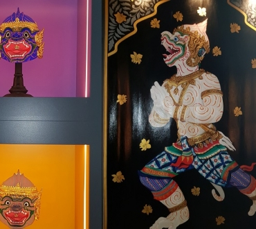 Yum Sa Gallery – ancient and modern Indian and Thai art and spiritual practice come to UK in unique space…