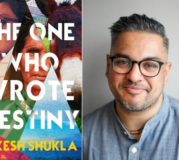 'The one who wrote destiny' – Nikesh Shukla on his new novel and why Nick Hornby never has to worry about this stuff (Diversity)…