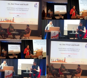 Zee Jaipur Literature Festival 2018 (#ZeeJLF/#ZeeJLFatBL) at the British Library: Literary thrills and spills in London