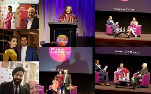 UK Asian Film Festival 2019: Ramesh Sippy interview, Closing Gala: Radhika Apte, Kiran Juneja Sippy, and picture gallery, coming soon…! (Click to enlarge)