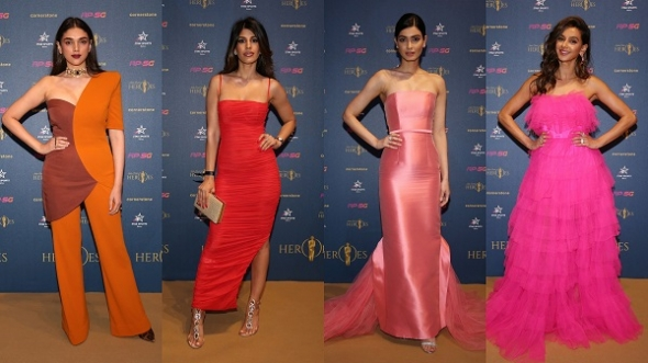 World Cup Cricket begins today – entertainment stars turn out for first Indian Cricket Heroes Awards (picture gallery)
