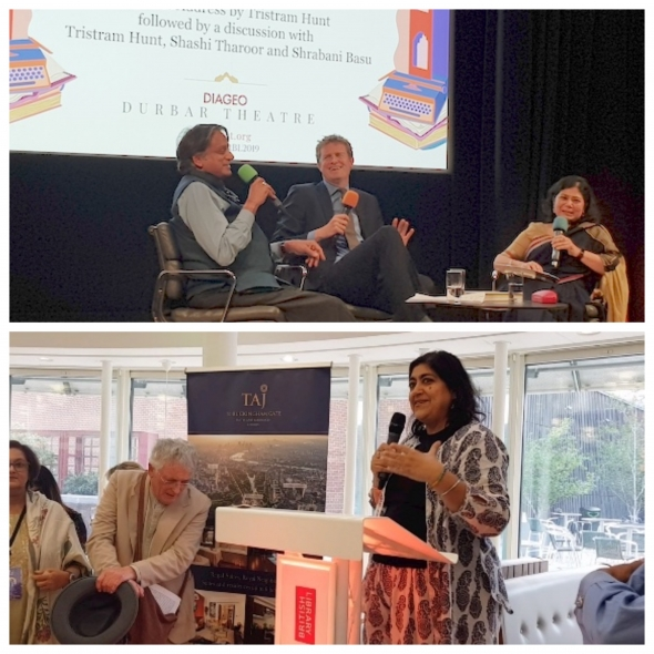 ZEEJLF at British Library opens… (Day 1)