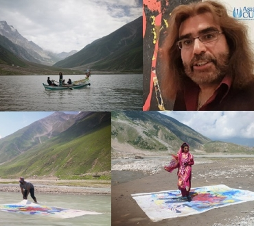Nasser Azam – 'Saiful Malook' exhibition – love, struggle, sacrifice and attainment through music, poetry and now visual art…