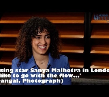 Sanya Malhotra (video) – on 'Dangal', 'Photograph' and breaking through into Bollywood (update)