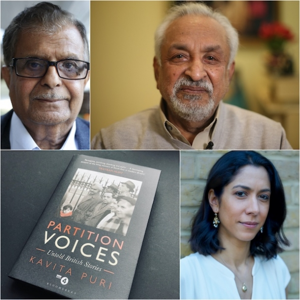 'Three Pounds in My Pocket' & 'Partition Voices' – BBC Radio 4's Kavita Puri talks to acv as curtain about to fall on landmark series…