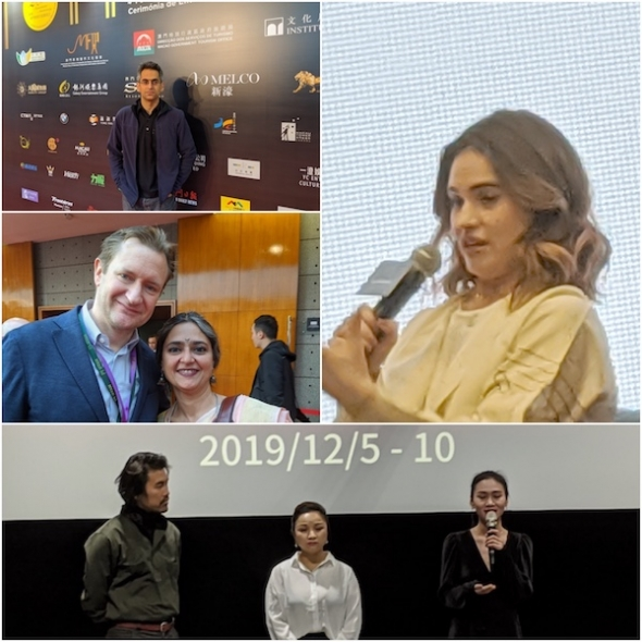 International Film Festival and Awards Macao (IFFAM): Lily James, Richie Mehta, 'Bombay Rose' (Gitanjali Rao),  'To Live to Sing' (Johnny Ma)