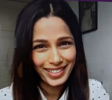 Freida Pinto: Freebird Films – watch this space, admiring Jameela Jamil and being more active on social media…
