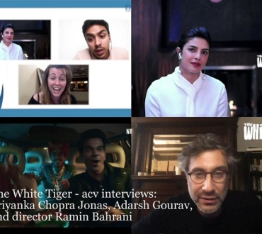 Priyanka Chopra Jonas, Adarsh Gourav and director Ramin Bahrani talk about their film, 'The White Tiger'