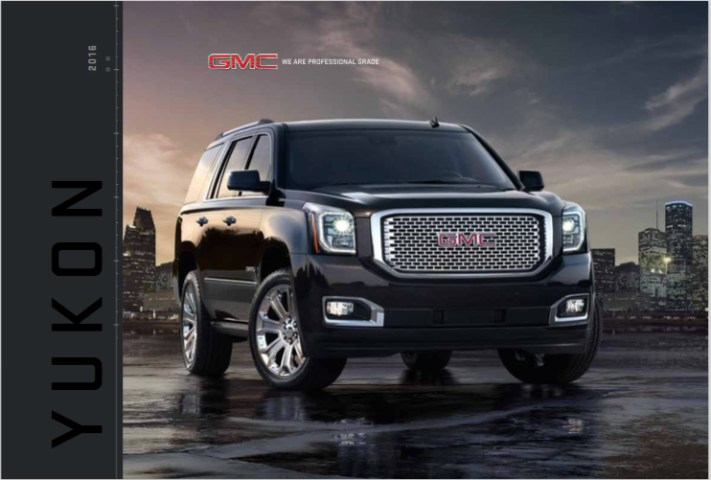 Brochure of 2016 GMC Yukon Denali     Graff Mt  Pleasant Yukon