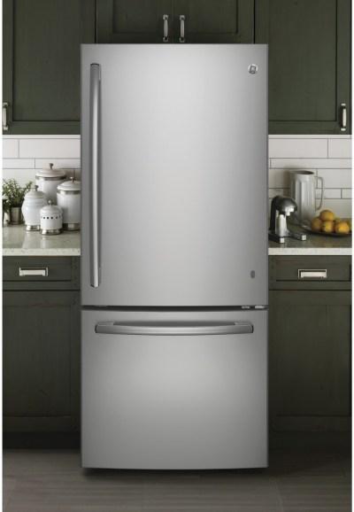 GE GBE21DSKSS 30 Inch Bottom Freezer Refrigerator with 20 ...