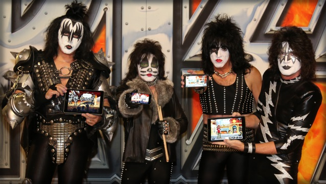 New Kiss Digital Mobile Game Developed By Sproing   Blabbermouth net New KISS Digital Mobile Game Developed By SPROING