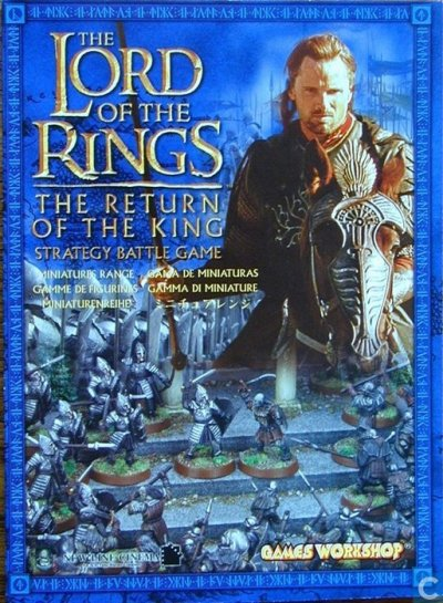 Lord of the Rings Return of the King strategy battle game - Games Workshop - Catawiki