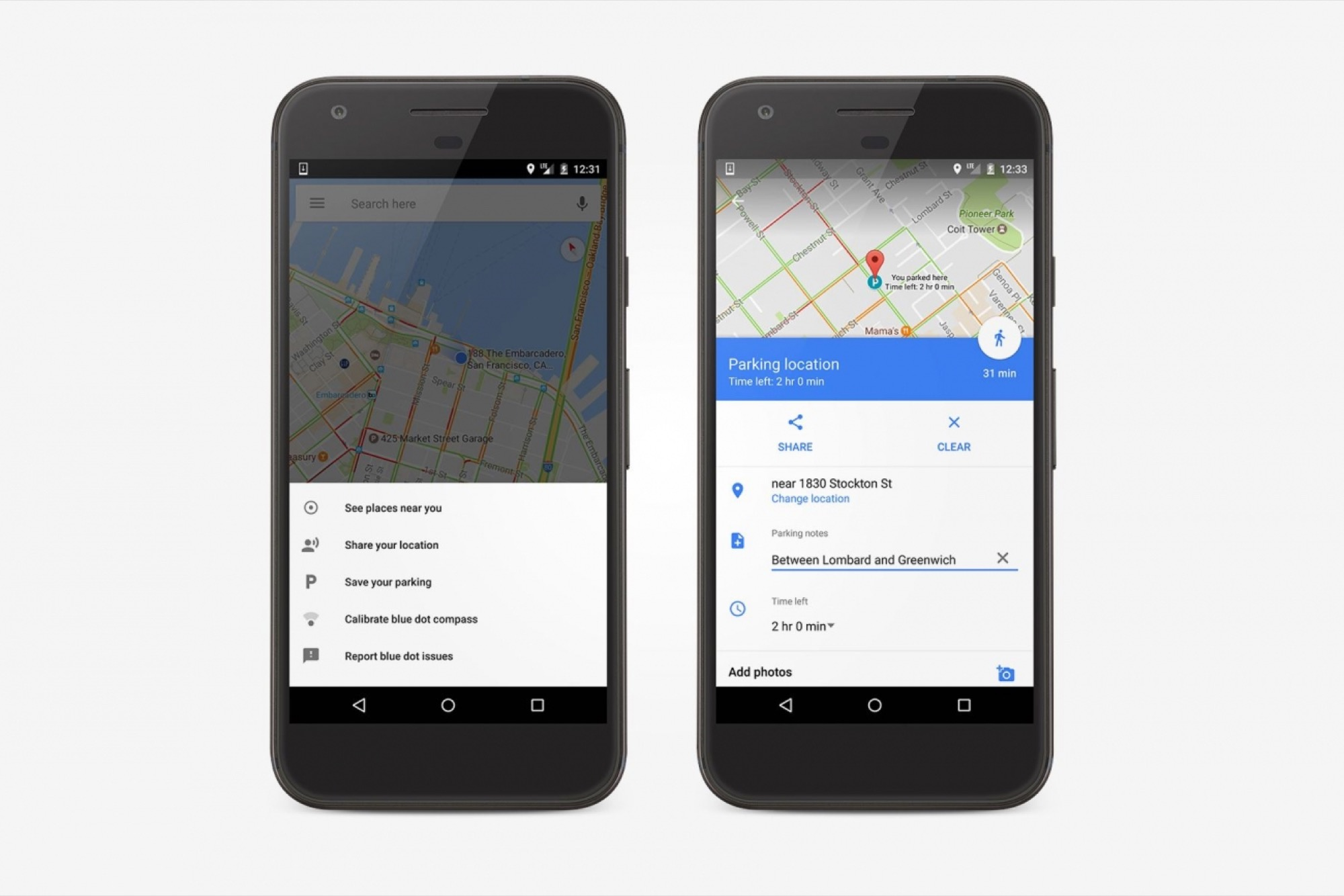 Remember Where You Parked With the Google Maps App