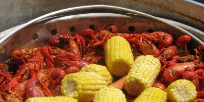 Old-Fashioned Crawfish Boil recipe | Epicurious.com