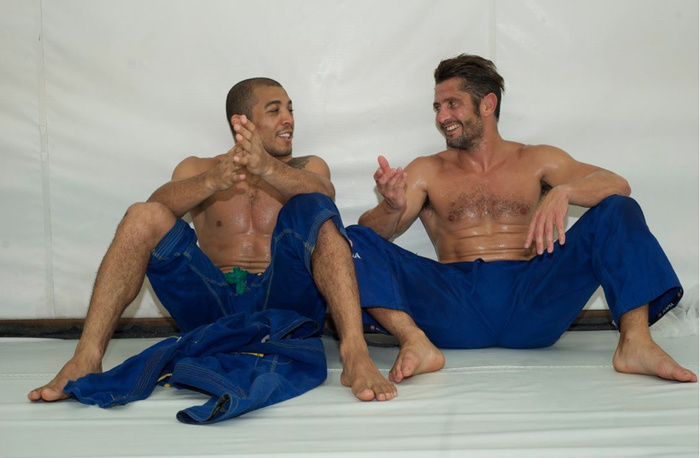 Famous French Soccer Player Bixente Lizarazu Takes Up Jiu Jitsu     Famous French Soccer Player Bixente Lizarazu Takes Up Jiu Jitsu   FIGHTLAND