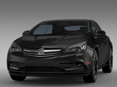 Buick Cascada 2016 3D Model – Buy Buick Cascada 2016 3D Model | FlatPyramid