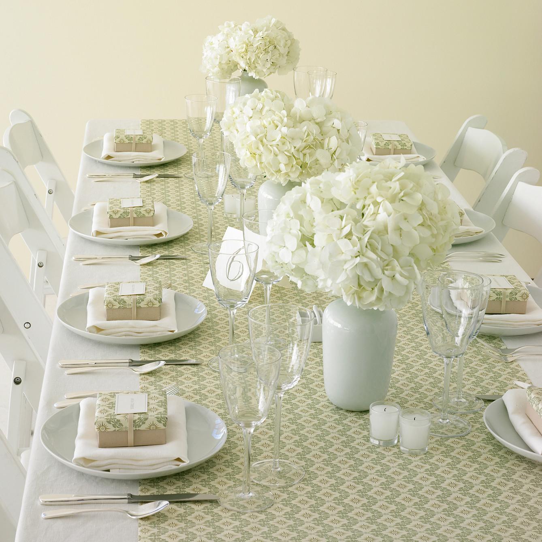 nonfloral centerpieces wedding centerpiece Hydrangea Wedding Centerpieces