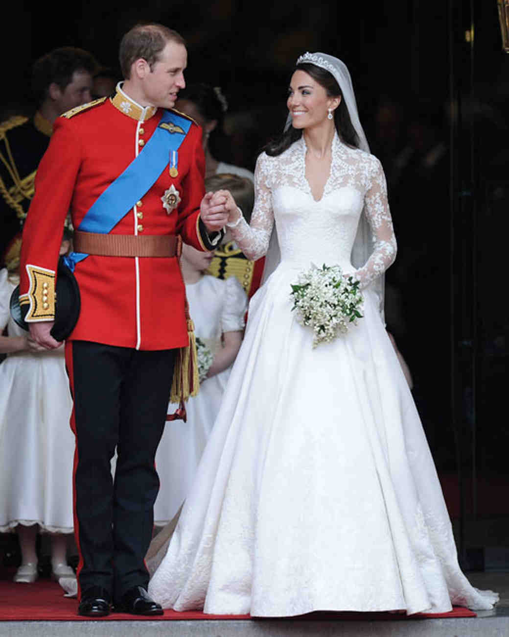 Get Kate Middleton's Royal Wedding-Dress Look | Martha ...