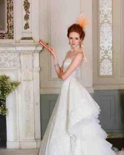 classic wedding dress cuts decade classic wedding dress Rococo Wedding Dress