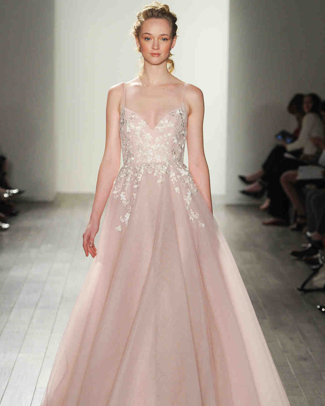 colored wedding dresses ombre wedding dress Colorful Wedding Dresses That Make a Statement Down the Aisle Martha Stewart Weddings