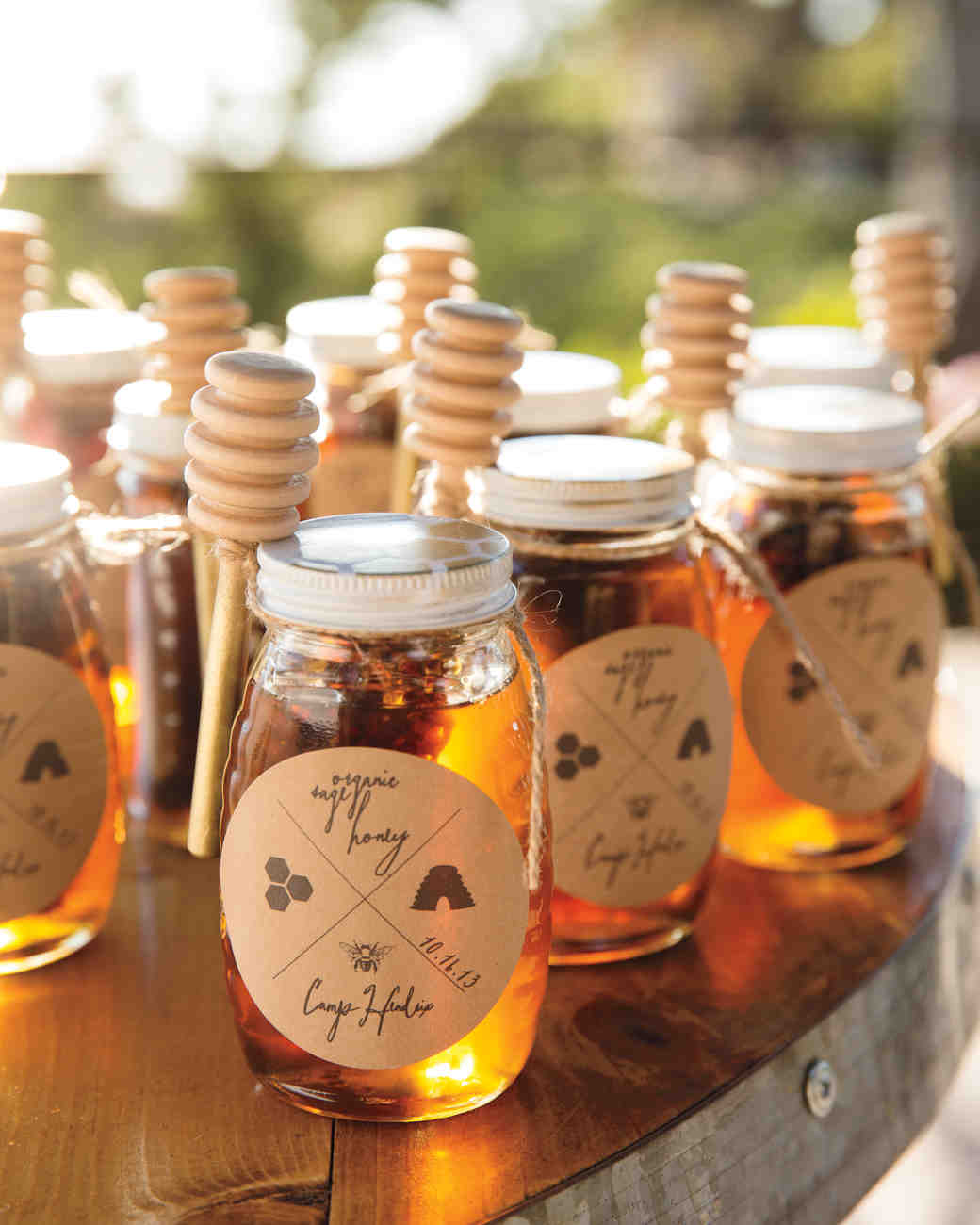 fall wedding favors fall wedding favors Honey Favors