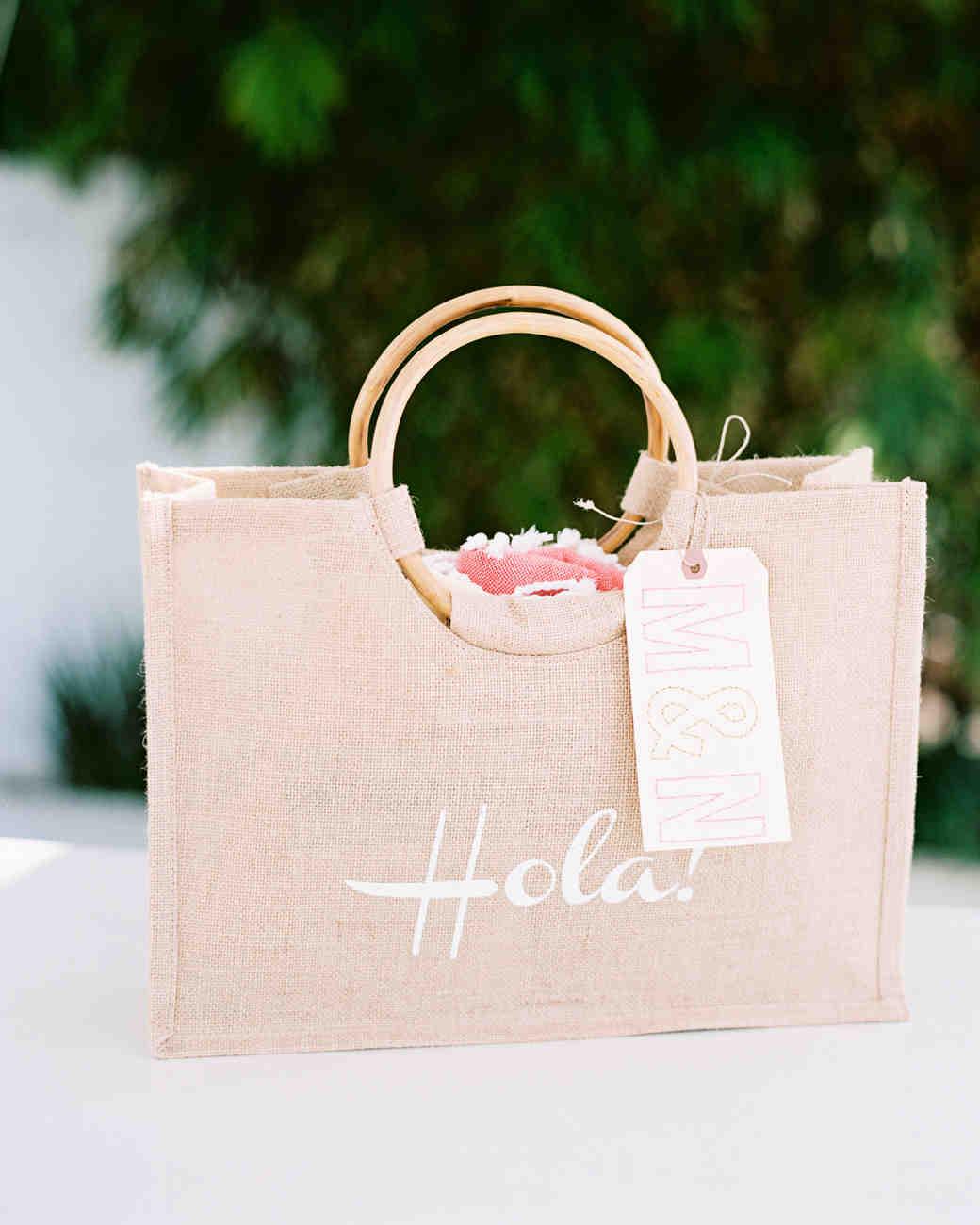welcome bags real weddings wedding welcome bags