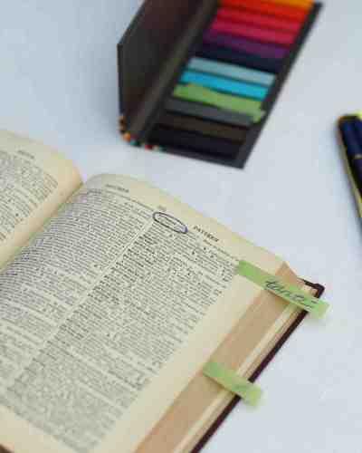 unique wedding guest book ideas wedding books Dictionary Guest Book