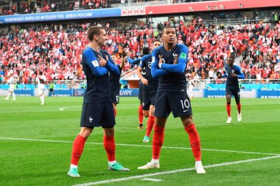 Mbappe puts France ahead to become youngest scorer for Les ...