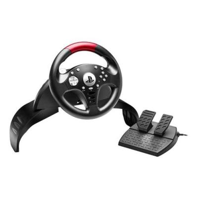 Thrustmaster T60 Steering wheel + Pedals Playstation 3 Black, Red, Silver