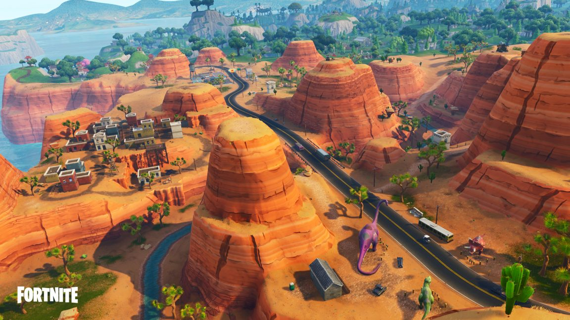 Tour the new Fortnite Season 5 map  from Lazy Links to Paradise     Paradise Palms