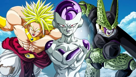 Every Important Dragon Ball Transformation  Power Up  and Fusion So     Top 10 Dragon Ball Villains Voted On By Fans