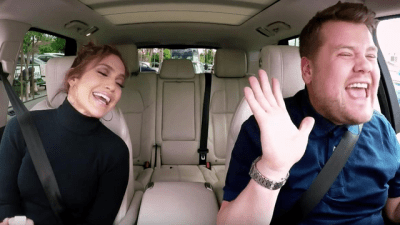 WATCH: James Corden Has Got J Lo In For The Greatest Carpool Karaoke Of ALL Time! - Capital