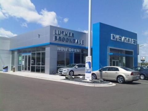 Luther Brookdale Chevrolet Buick GMC car dealership in Minneapolis     Luther Brookdale Chevrolet Buick GMC