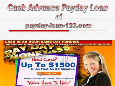 Cash Advance Payday Loan |authorSTREAM