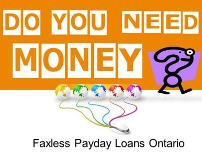 Faxless Payday Loans Ontario Effortlessly Deal With ...