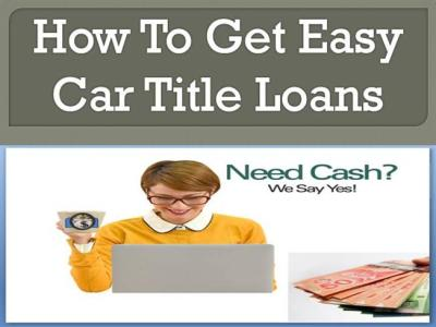 Get Easy,Quick And Fast Relief from Bad Credit Car Loans in Saint .. |authorSTREAM