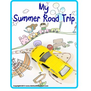 Summer Road Trip Journal and Activity Book