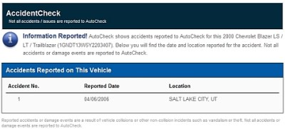 Free AutoCheck Report Example   What's Inside An AutoCheck Report?