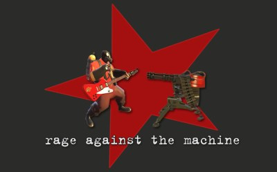Rage Against The Machine - Team Fortress 2 Wallpaper
