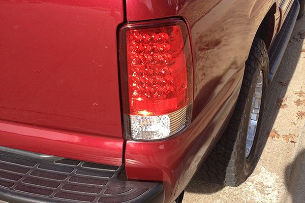 Spyder LED Tail Lights   Lowest Price   FREE SHIPPING      5222 spyder led taillights 2004 gmc yukon