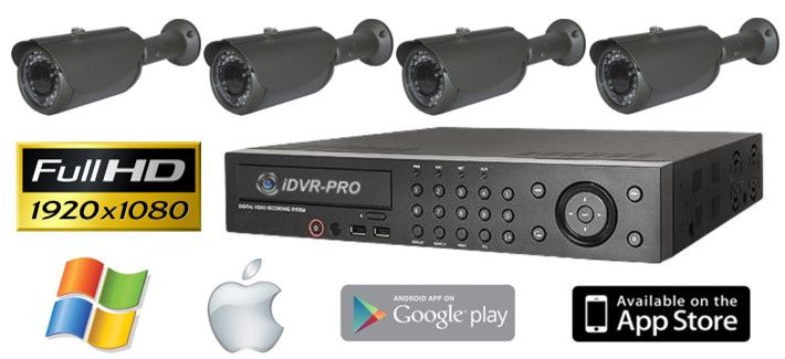 1080p HD Security Camera Systems