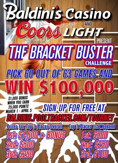 Bracket Buster Challenge – Baldini's Sports Casino
