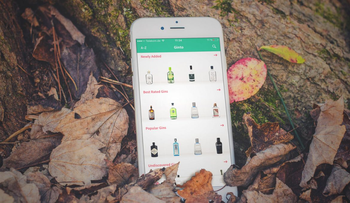 App-Check | Ginto | Die Must-Have-App für Gin & Tonic Fans