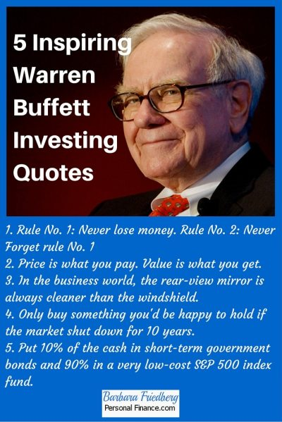 5 Inspiring Warren Buffett Investing Quotes