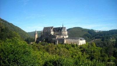Castle in Luxembourg - Barbaras HD Wallpapers