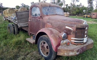 BF Exclusive: Old REO F-20 Truck